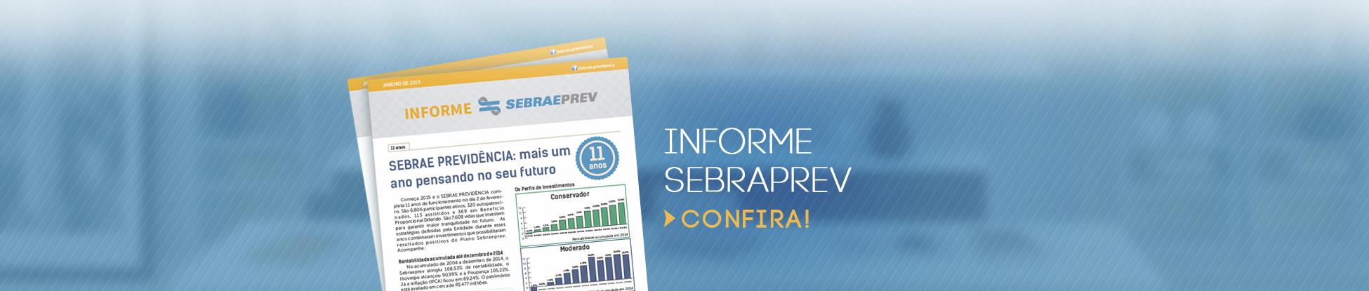 Informe SEBRAEPREV