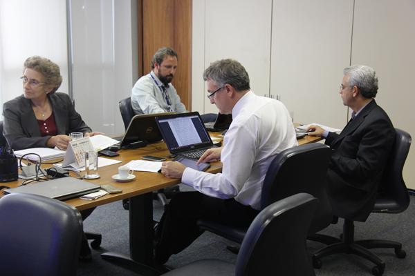 fotointernaCF Conselho Fiscal realiza reunião extraordinária