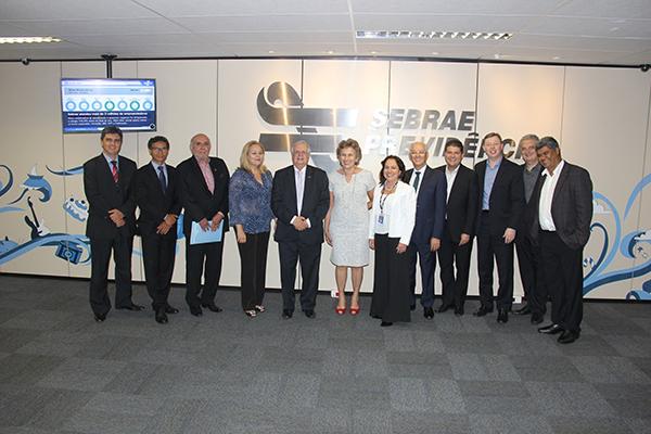 foto cd dirigentes 2 Conselho Deliberativo discute cenários econômicos com dirigentes de fundos de pensão